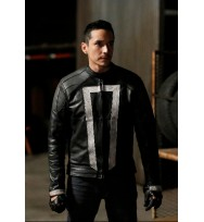 Agents Of Shield Ghost Rider Leather Jacket Season 4