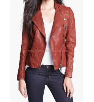 Fifty Shades of Grey Anastasia Steele Leather Jacket