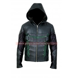 Arrow Season 4 Oliver Queen Leather Jacket