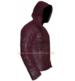 Arrow Roy Harper Season 3 Leather Jacket