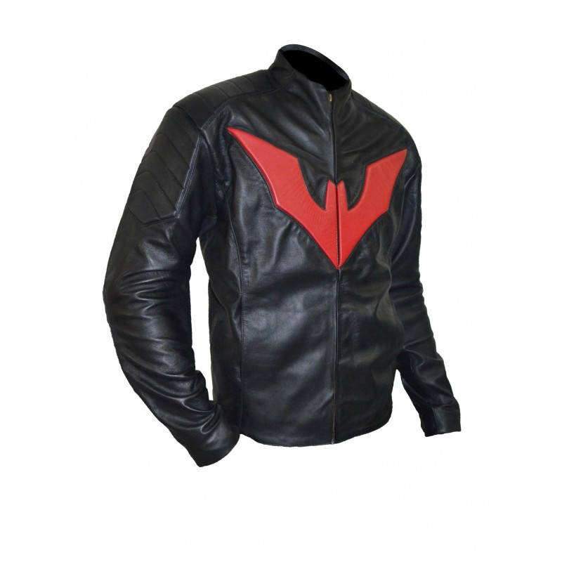 Batman leather motorcycle jacket