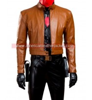 Batman Jason Todd Red Hood Leather Jacket and Vest