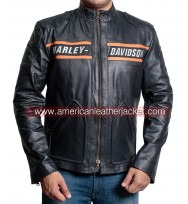 Bill Goldberg Harley Davidson Biker Jacket