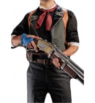 Booker DeWitt Bioshock Infinite Leather Vest and Holster