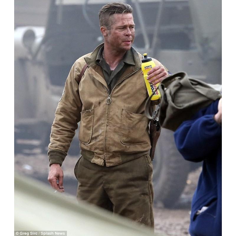 Brad pitt fury jacket ww2 2014 movie jacket brad pitt fury jacket brad pitt fury jacket urmus Images