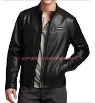 Grant Ward Agents Of SHIELD Black Leather Jacket