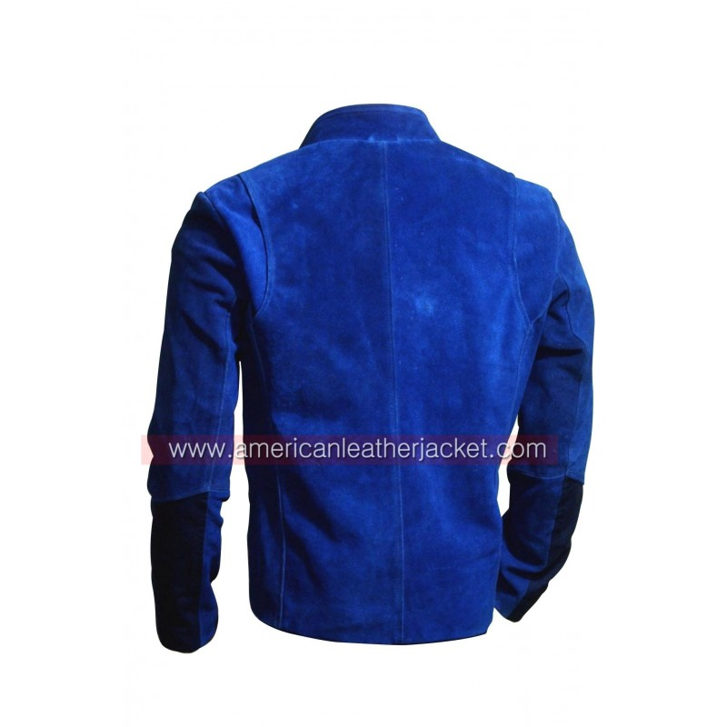 Collection Blue Leather Jacket Pictures - Fashion Trends and Models