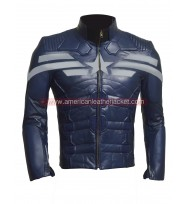 Captain America The Winter Soldier 2014 Leather Jacket