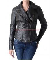 24 Season 9 Chloe O'Brian Leather Jacket