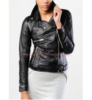 Community Britta Perry Season 5 Leather Jacket