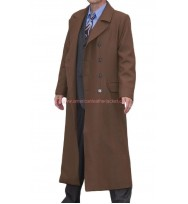 David Tennant 10th Tenth Doctor Brown Coat