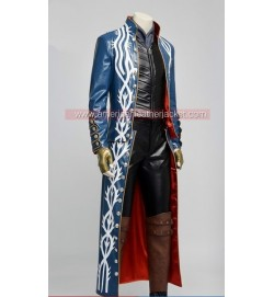 Devil May Cry 3 Vergil Leather Jacket