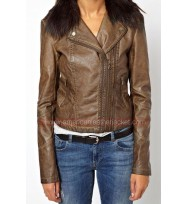 Doctor Who Clara Oswald Season 8 Leather Jacket