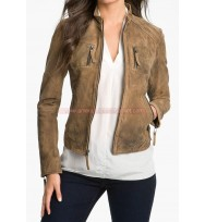 The Vampire Diaries Season 4 Elena Gilbert Leather Jacket