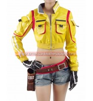 Final Fantasy XV Cindy Aurum Yellow Jacket