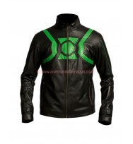 Green Lantern Ryan Reynolds Black Leather Jacket