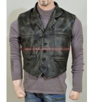 Hell on Wheels Cullen Bohannan Leather Vest
