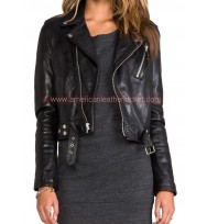 KUWTK Kim Kardashian Season 9 Leather Jacket
