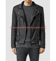 Limitless Brian Finch Biker Leather Jacket