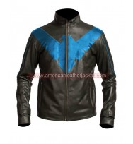 Nightwing Motorcycle Leather Jacket