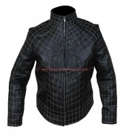 The Amazing Spider Man 2 Black Leather Jacket