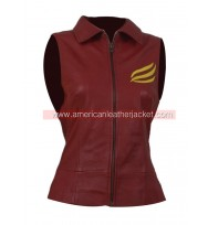 Claire Redfield Resident Evil Leather Vest