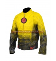 Eobard Thawne Reverse Flash Leather Jacket Costume