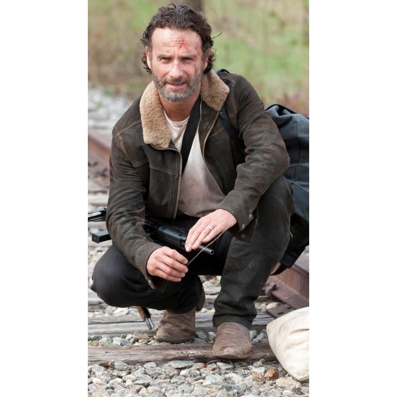The Walking Dead Rick Grimes Season 4 Jacket Walking Dead Season 4 Rick