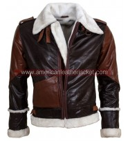 Rocky Balboa Bomber Leather Jacket