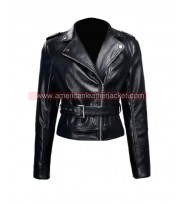 Terminator Genisys Sarah Connor Leather Jacket