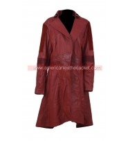 Scarlet Witch Civil War Leather Coat