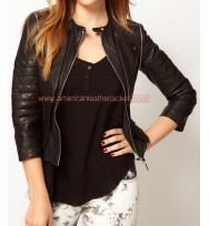 Shadowhunters Clary Fray Black Leather Jacket