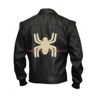 Spider-Man Noir Leather Vest + Jacket