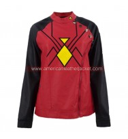 Spider-Woman Jessica Drew Leather Jacket Costume