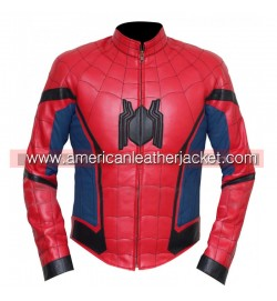 Spider-Man Homecoming Peter Parker Leather Jacket