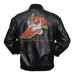 Rocky II Tiger Rocky Balboa Leather Jacket