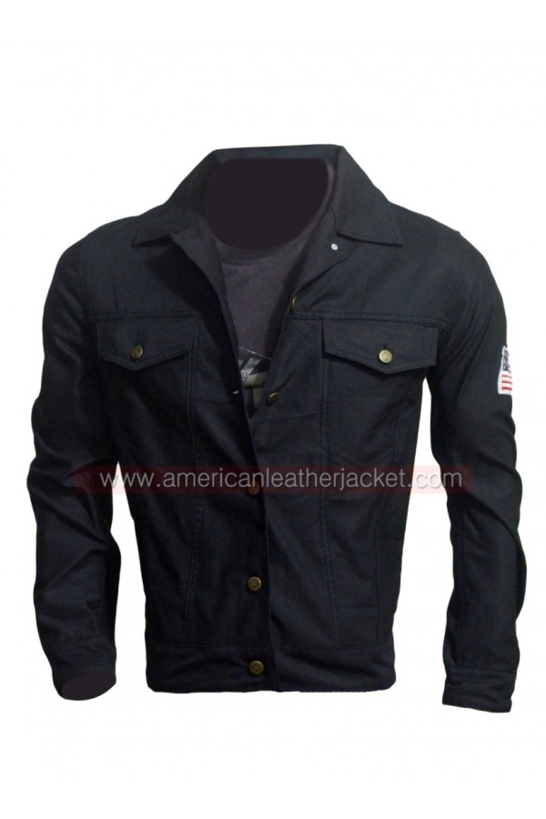 6cc55480e Teen Wolf Scott McCall US Flag Jacket