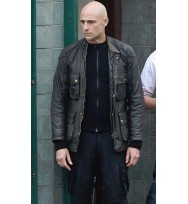 The Brothers Grimsby Sebastian Butcher Leather Jacket