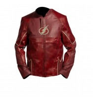 The Flash Superhero Leather Jacket