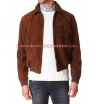 The Man from U.N.C.L.E Illya Suede Jacket