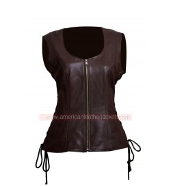 The Walking Dead Michonne Leather Vest