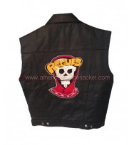 The Warriors Rogues Leather Vest