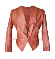 2 Broke Girls Caroline Channing Leather Jacket