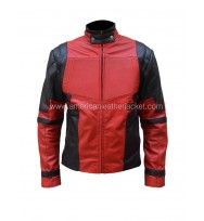 Ryan Reynolds Deadpool Movie Leather Jacket