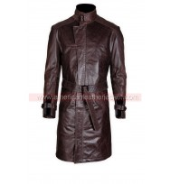 Watch Dogs Aiden Pearce Leather Jacket Coat - Premium Edition