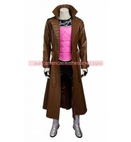 X-Men Remy Etienne Gambit Leather Coat