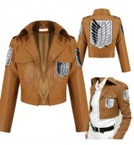 Attack on Titan Scouting Legion Leather Jacket