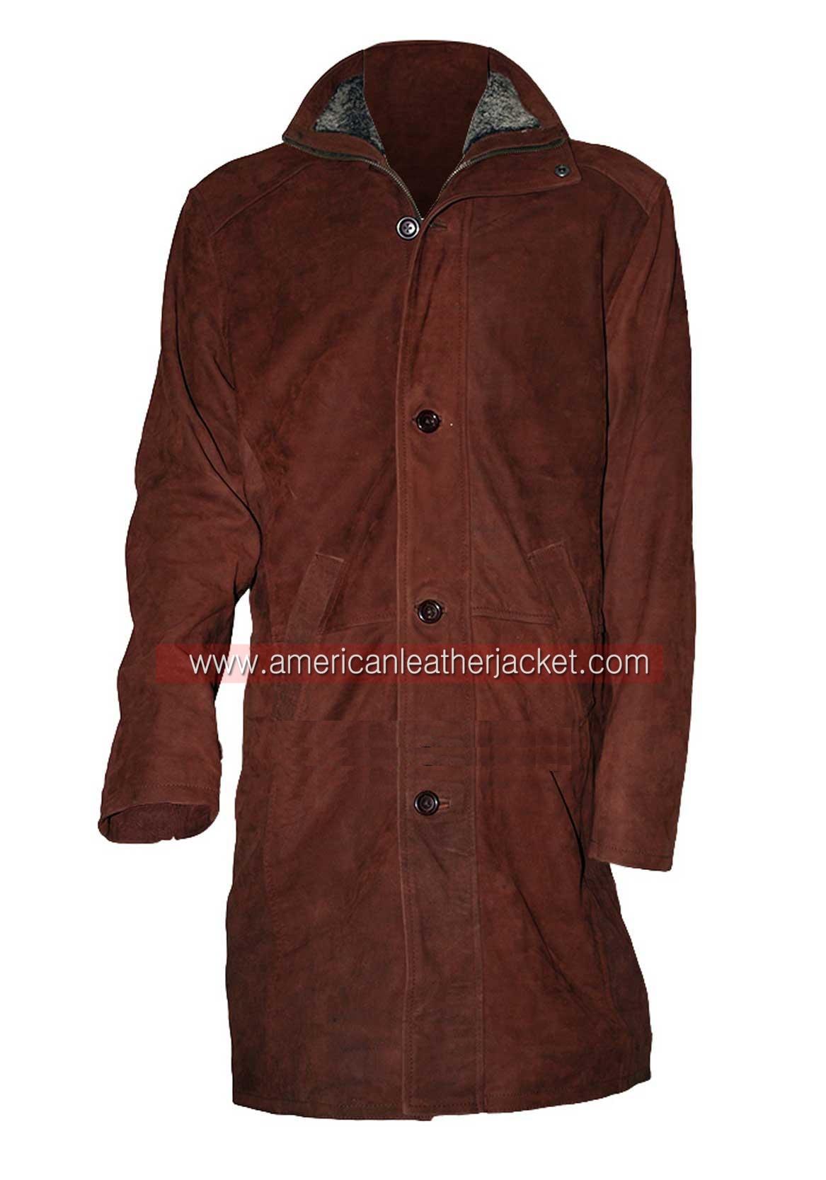 5b052ec43 Sheriff Walt Longmire Leather Coat