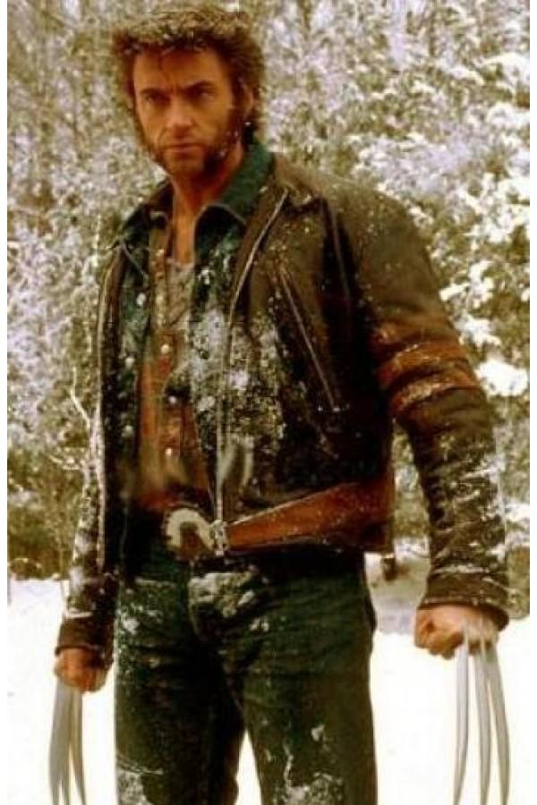 44ecc16af X Men Origins Wolverine Leather Jacket