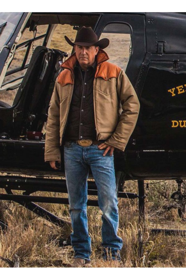 John Dutton Yellowstone Kevin Costner Jacket